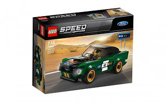LEGO ЛЕГО Speed Champions 1968 Ford Mustang Fastback 75884