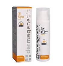 Крем 3в1 - защита SPF50 с тоном c матирующим эффектом / Elios Mat SPF50 3in1 / Dermagenetic