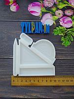 2D Форма силиконовая школьный линейка карандаш ластик молд для изомальта леденцов шоколада