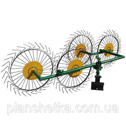 Грабли ворошилки на 4 колеса ТМ ШИП, фото 2