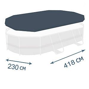 Тент - чохол для каркасного басейну Bestway 58425, 427 х 250 см, (Оригінал)