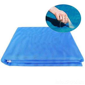 Пляжный коврик IntexPool 72599 «Анти-песок», 200 х 150 см, голубой, (Оригинал)