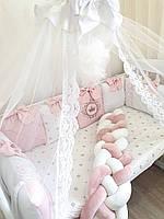 """Бортики в ліжечко """"корони"""", фото 1"""
