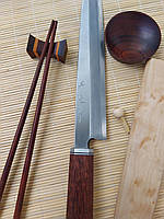 Кухонный Нож Japanese Sashimi bocho 240мм серии Hammered Damascus Steel
