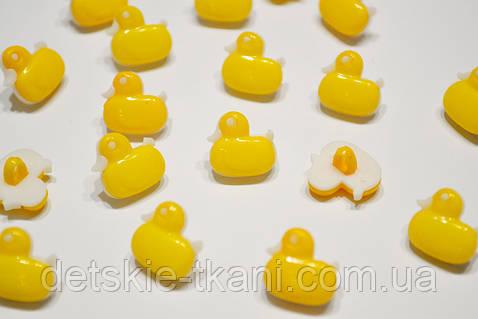 """Пуговицы жёлтого цвета """"уточки маленькие"""" П-005"""
