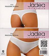 трусики-стринг классической формы Jadea 510 bianco