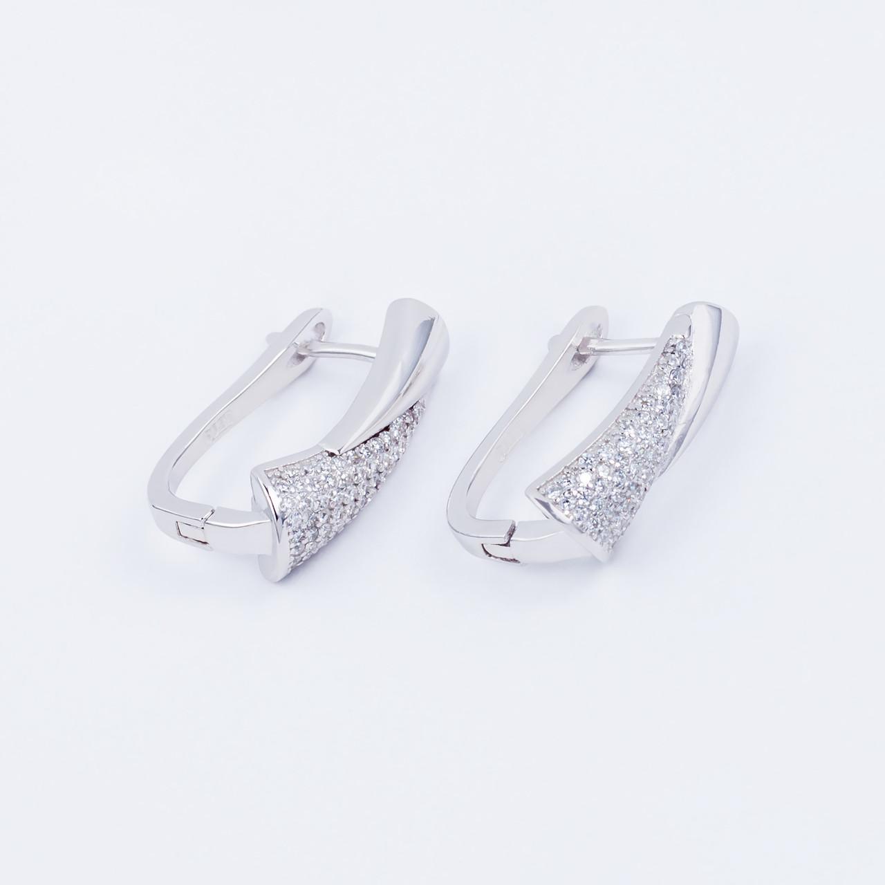 Сережки TOP Silver 5,15 г 9520107б