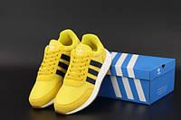 """Кросівки чоловічі Adidas Iniki """"Жовті"""" р. 41-44, фото 1"""