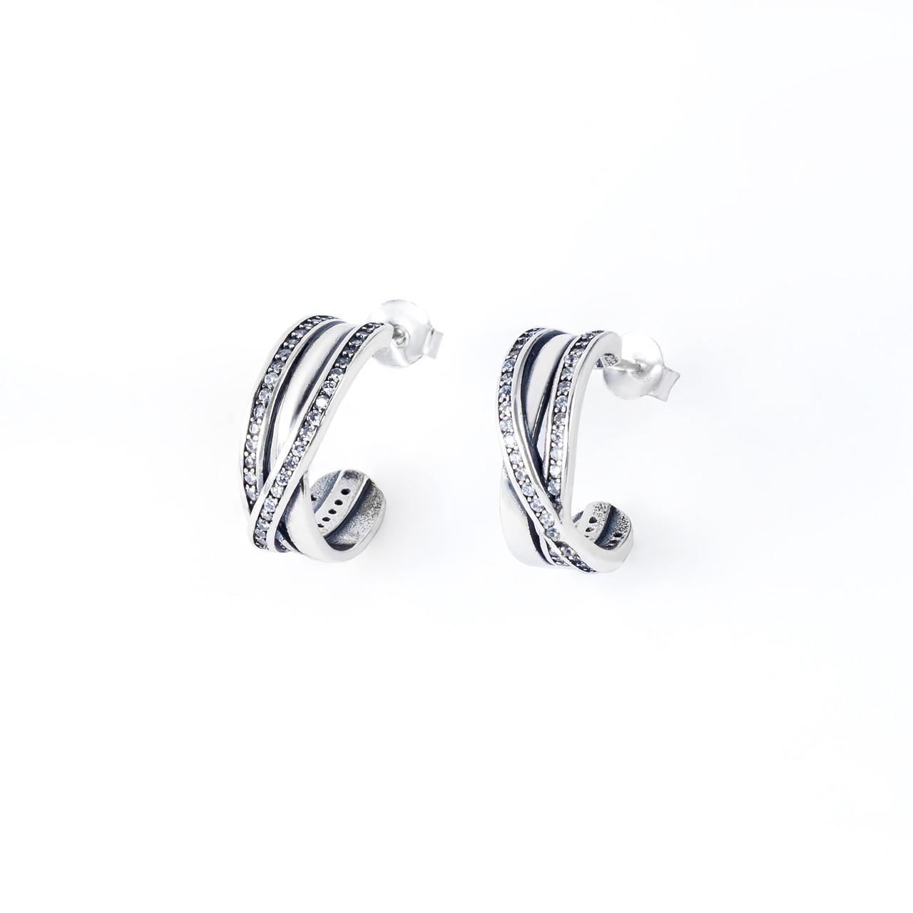 Сережки TOP Silver 4,65 г 9520254б