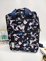 Яскравий рюкзак-сумка Dolly 397 для підлітків 31х39х19