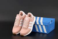 """Кросівки жіночі Adidas Iniki """"Рожеві"""" р. 37-40, фото 1"""