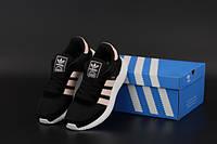 """Кросівки жіночі Adidas Iniki """"Чорні"""" р. 36-40, фото 1"""