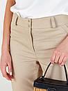 Штани прямі джинсові в жовтому кольорі SOLH MKSH2642, фото 2