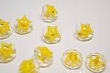 Пуговицы с жёлтой звёздочкой П-016, фото 3