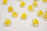 Пуговицы с жёлтой звёздочкой П-016, фото 4