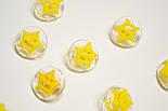 Пуговицы с жёлтой звёздочкой П-016, фото 5