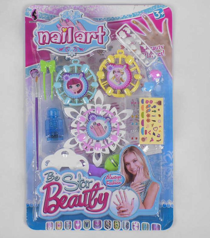 Детский маникюрный набор 818 А с дизайном для ногтей