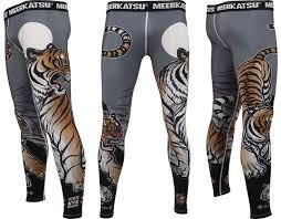 Компрессионные штаны MEERKATSU   Tiger Spats