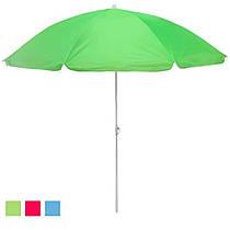 Пляжний парасольку 2 м в діаметрі, мікс кольорів, 0039