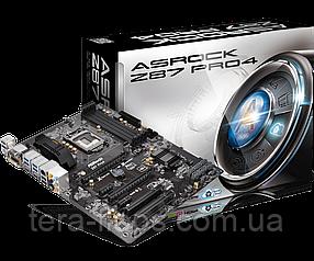 Материнська плата ASRock Z87 PRO4 LGA 1150 (ASRock-Z87-PRO4) Б/У