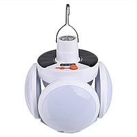 Ліхтар лампа для кемпінгу. Підвісний на акумуляторі JG 2029 USB кемпінговий ліхтар