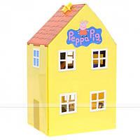Игровой набор ЗАГОРОДНЫЙ ДОМ ПЕППЫ Peppa 15553 (домик с мебелью, 2 фигурки), фото 1