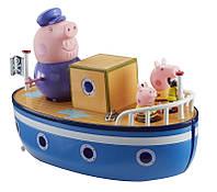 Игровой набор МОРСКОЕ ПРИКЛЮЧЕНИЕ Peppa 15558 (кораблик, 3 фигурки), фото 1
