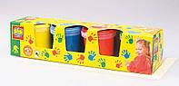 Пальчиковые краски Ses 0305S МОИ ПЕРВЫЕ РИСУНКИ (4цвета,в пластиковых баночках), фото 1