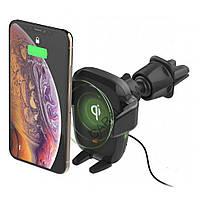 Автокрепление для смартфона iOttie AutoSense Automatic Wireless Charging CD/Air Vent Mount HLCRIO164