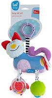 Развивающая игрушка-подвеска Taf Toys 11705 СМЫШЛЕНЫЙ КОТИК, фото 1