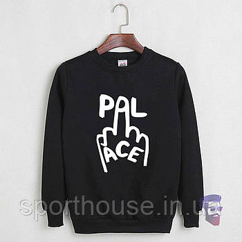 Спортивна кофта Palace, Паласі, світшот, трикотаж, чоловічий, чорного кольору, копія