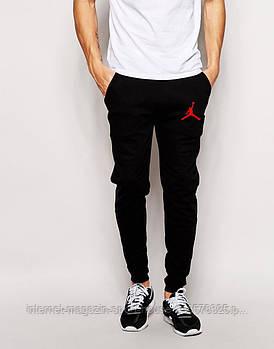 Спортивні штани Jordan, Джордан, чоловічі, трикотажні, весна/осінь, чорного кольору, копія