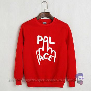 Спортивна кофта Palace, Паласі, світшот, трикотаж, чоловічий, червоного кольору, копія