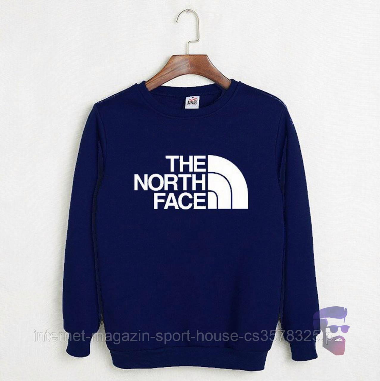 Мужской реглан спортивный Зе Норс Фейс (The North Face), трикотажный (на любой сезон), реплика