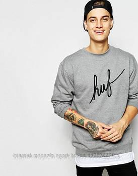Спортивна кофта Jordan, Джордан, світшот, трикотаж, чоловічий, сірого кольору, копія