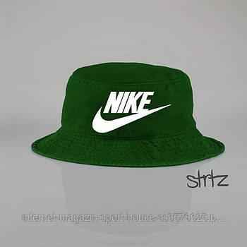 Панамка Nike зелена (люкс копія)