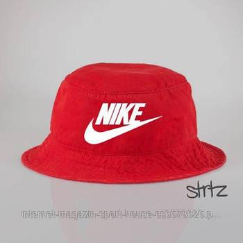 Панамка Nike червона (люкс копія)