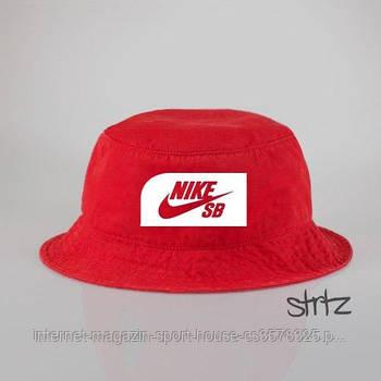 Панамка Nike SB червона (люкс копія)