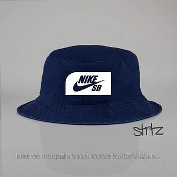 Панамка Nike SB синя (люкс копія)