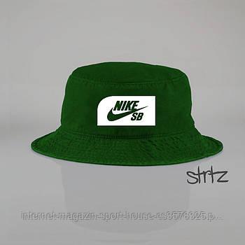 Панамка Nike SB зелена (люкс копія)