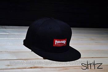 Снепбек Thrasher чорний (люкс копія)