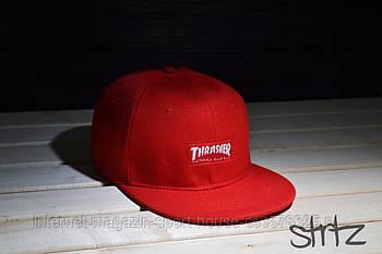 Снепбек Thrasher червоний (люкс копія)