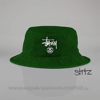 Панамка Stussy зелена (люкс копія)