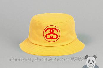 Панамка Stussy жовта (люкс копія)