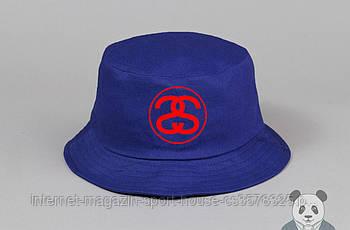 Панамка Stussy синя (люкс копія)