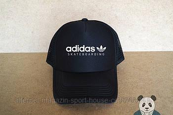 Спортивна кепка Adidas, Адідас, тракер, річна кепка, унісекс, чорного кольору (копія)