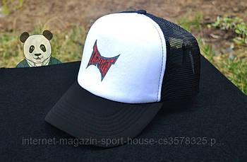 Спортивна кепка Tapout, Тапаут, тракер, річна кепка, чоловіча, жіноча, білого і чорного кольору, копія