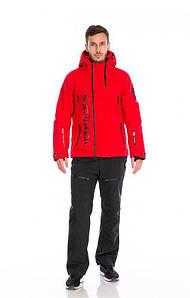 Мужской горнолыжный костюм WHS красный TISENTELE