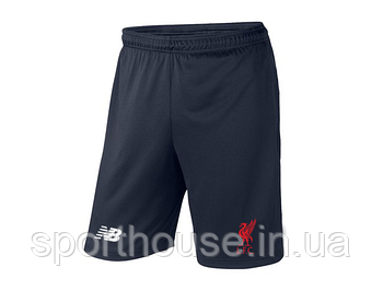 Мужские летние спортивные шорты Нью Беланс (New Balance), отличного качества, реплика синие