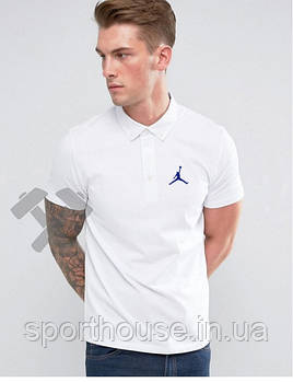 Поло Джордан (Jordan) мужское, тенниска Джордан, мужская футболка Джордан, Турецкий хлопок, копия